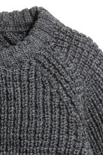 Merino wool jumper - Dark grey marl - Kids | H&M 2